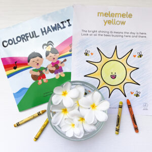 Colorful Hawaii Coloring Pages